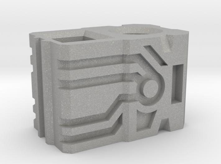 Shockwave gun handle(short) 3d printed