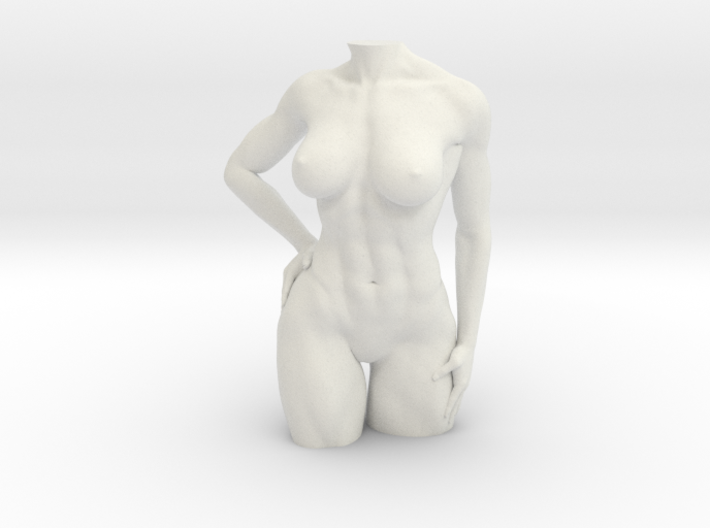fitness Body 3d printed