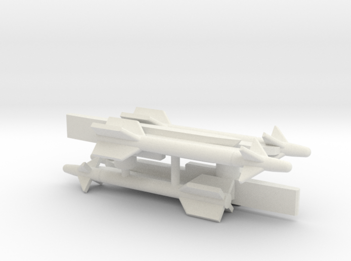 Sidewinder Missiles for Aerial Chivalry 3d printed