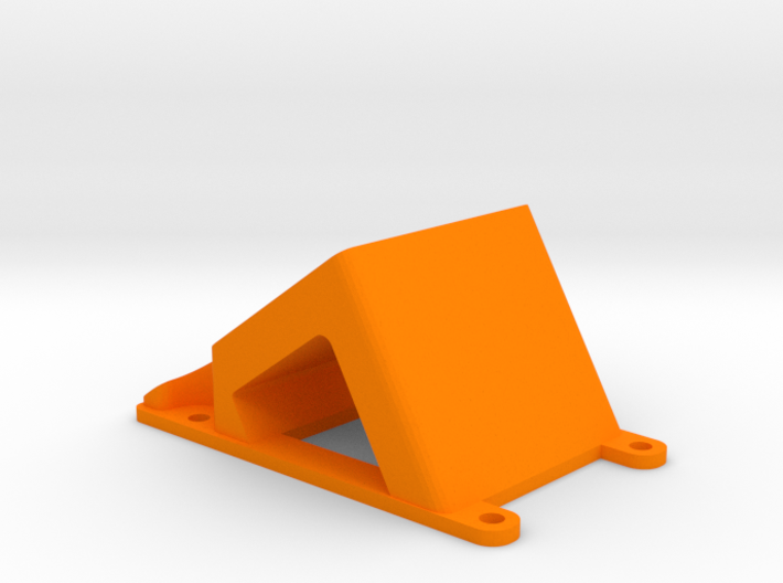 ZMR250 35° Camera mount for Runcam2, mobius, Gopr 3d printed