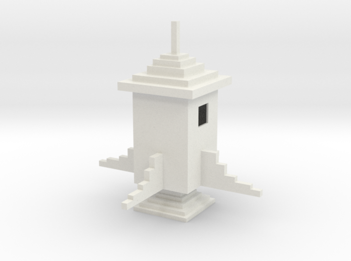 Minecraft Rocket 3d printed The Sky is the Limit!