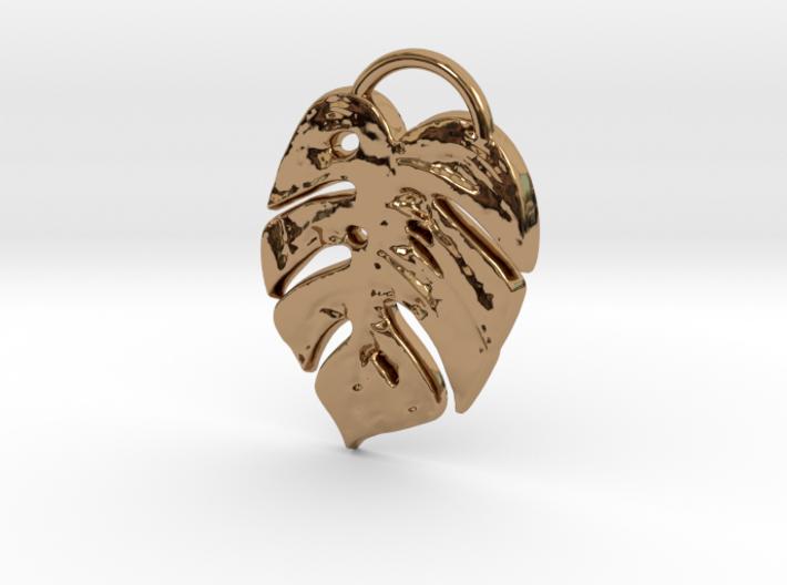 Tropical leaf mini 3d printed