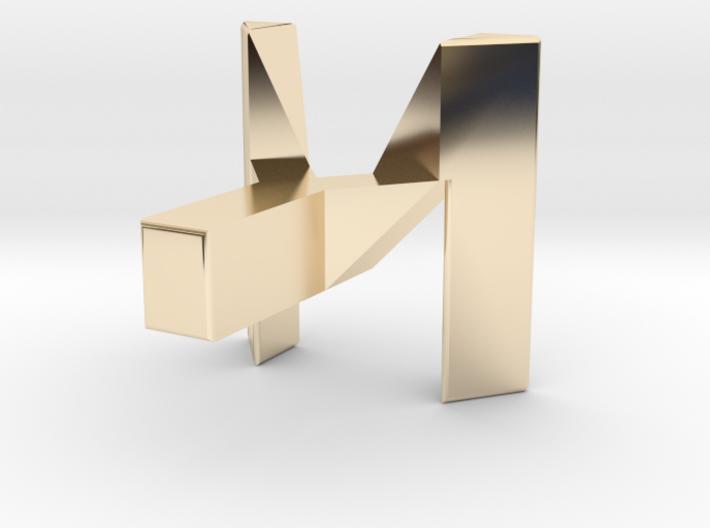 M-T-Y Pendant 3d printed