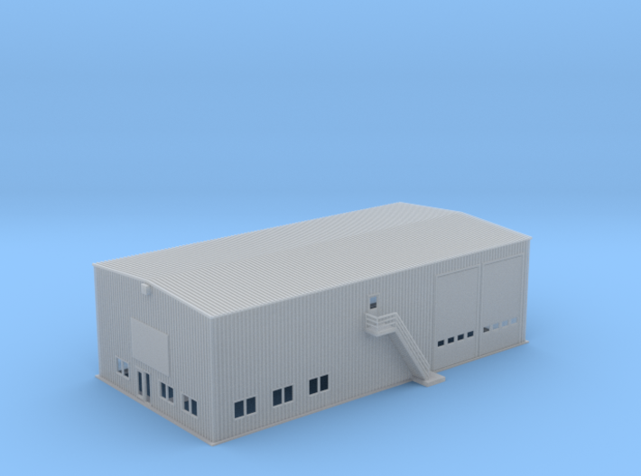 OVS Outlet Warehouse Business Facility Z Scale 3d printed OVS Warehouse Business Facility Z scale