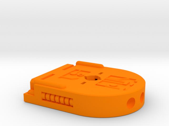 Castle Grayskull Turret Gun Baseplate 3d printed