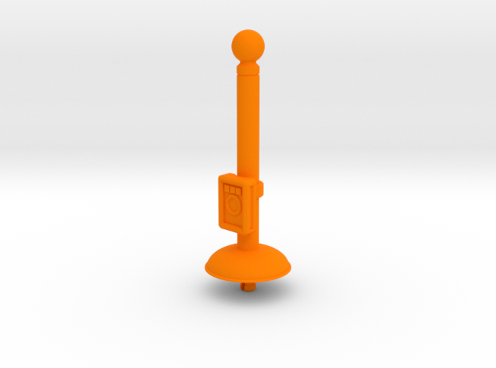 Prototype Turret Gun Stand (Minicomic version) 3d printed