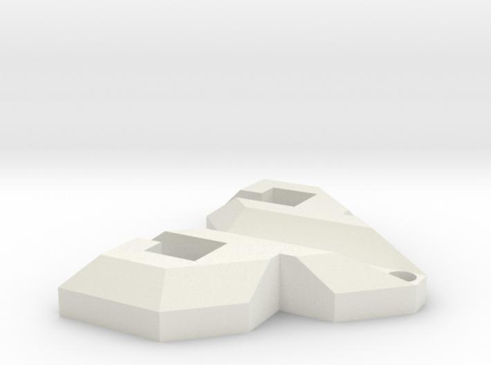 PsyPad keychain 3d printed