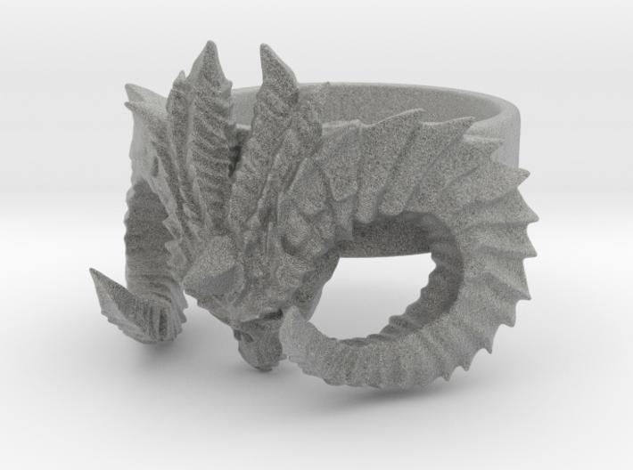 Diablo Ring (size - 2) 3d printed