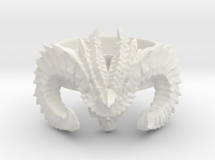 Diablo Ring (size - 2,5) 3d printed