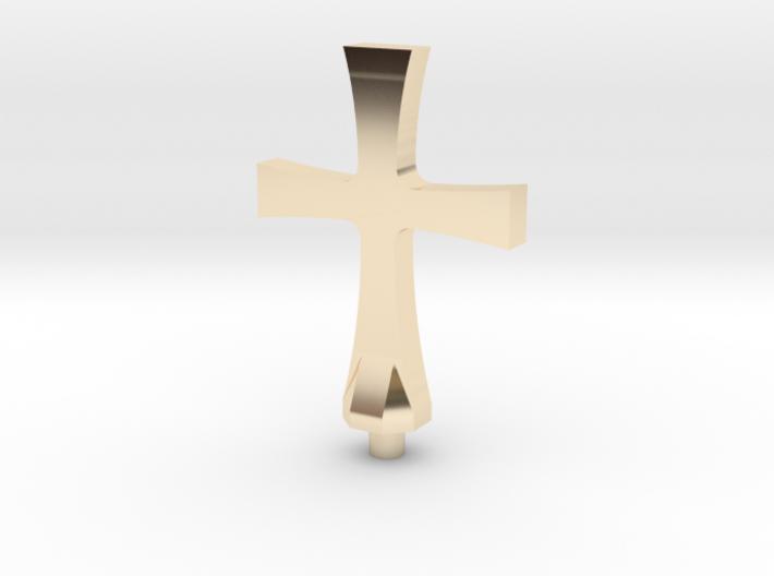 Torenspits 01 kruis 3d printed