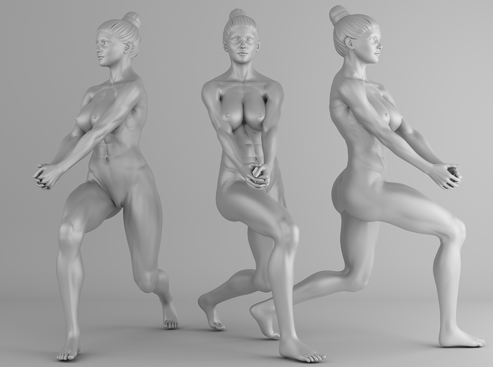 Fitness Girl 006 Scale 1/10 3d printed