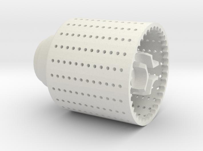 Brake, Version 1, 24mm Threaded 3d printed