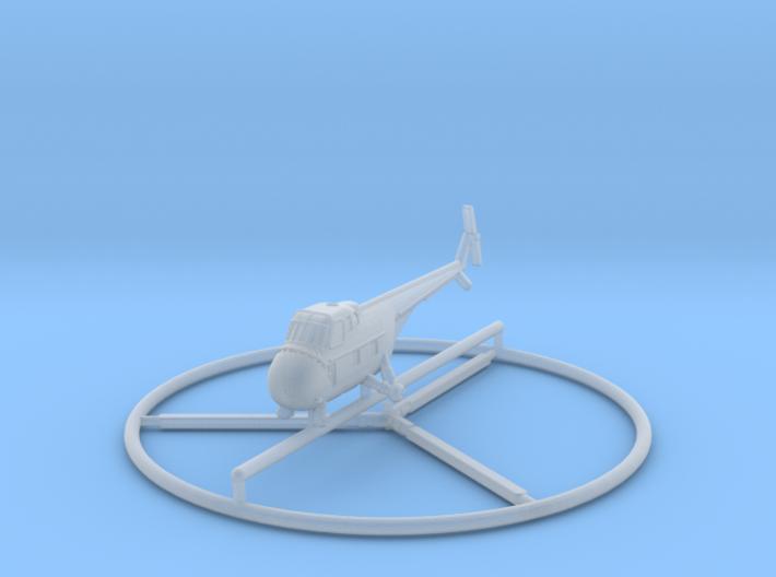 1/285 Sikorsky H-19 3d printed