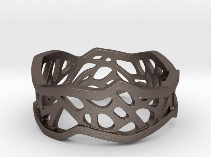 Web Ring_Size7 3d printed