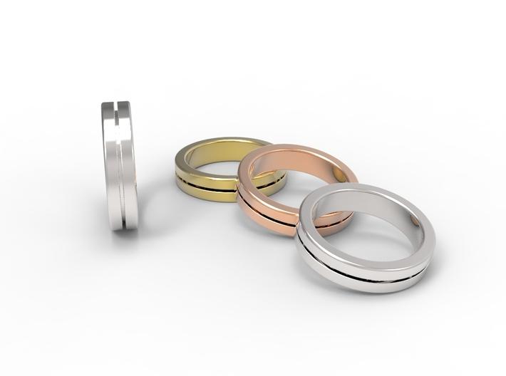 Ring CS01-flat 3d printed