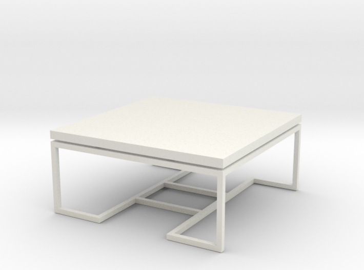 Coffee Table 1-24 3d printed