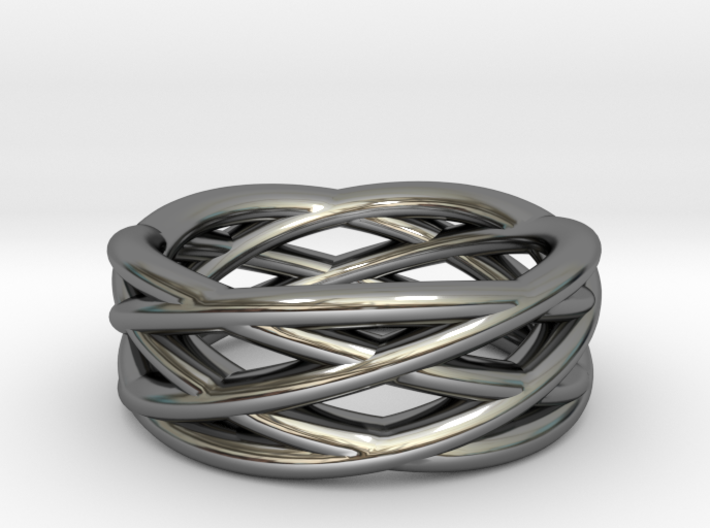 Astro: Stargazer's Ring US Size 7, UK Size O  3d printed