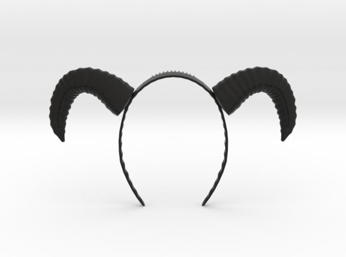 Headband Horns 1 3d printed