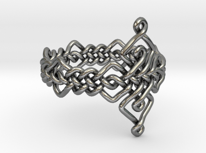 Celtic Ring - Size 9 3d printed