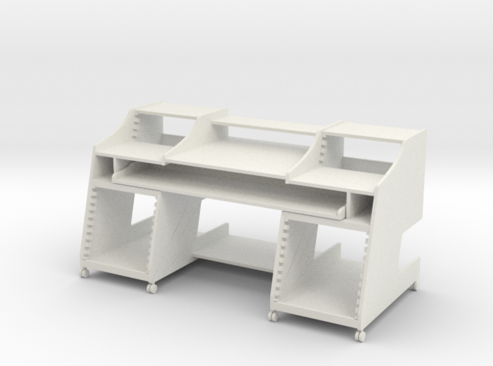 Music Desk 2 1:12 Scale 3d printed