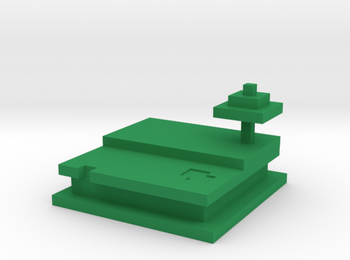 Helada's Minecraft Destination 3d printed
