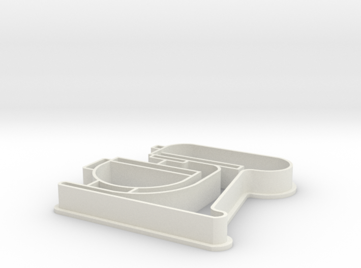 "5"" Kitchenaid Cookie Cutter by OCDservicesph 3d printed"
