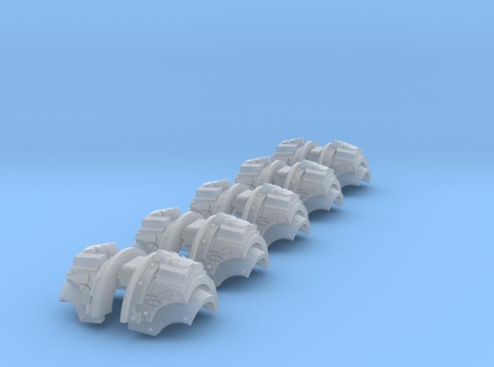 5x Divine Word Legion = Cataphractii Shoulder Sets 3d printed