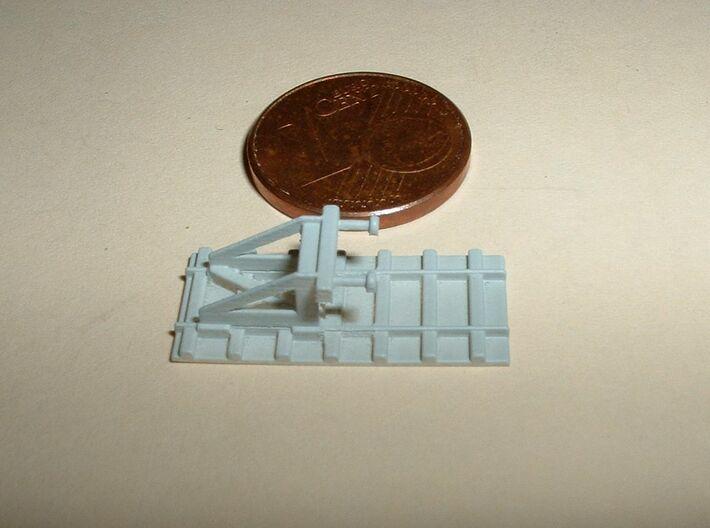 Bumper Stop / Prellbock 1/285 6mm 3d printed