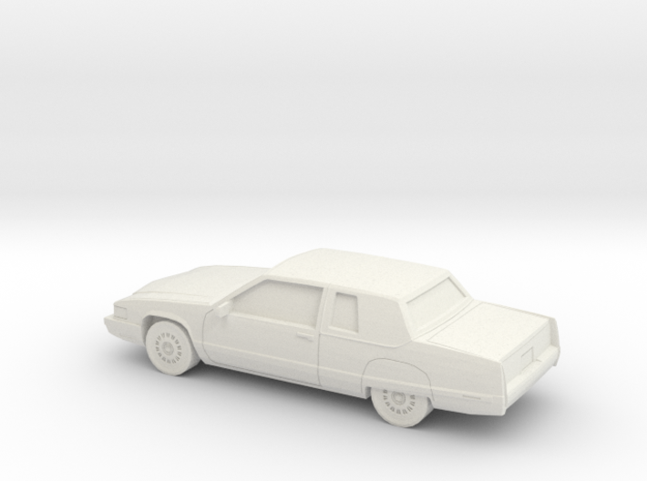 1/87 1991 Cadillac Fleetwood Coupe 3d printed