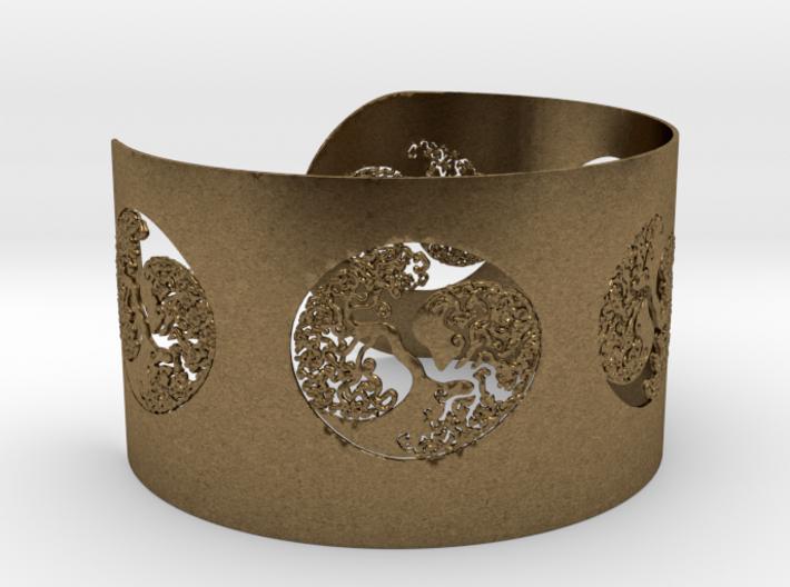 Celtic Tree Of Life Bracelet Ø2,48 inch/Ø63 mm Ful 3d printed