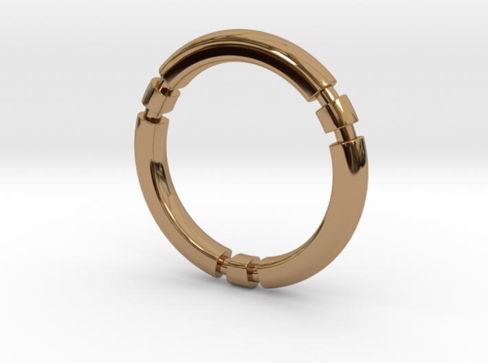 Orion - Precious Metals And Plastics 3d printed