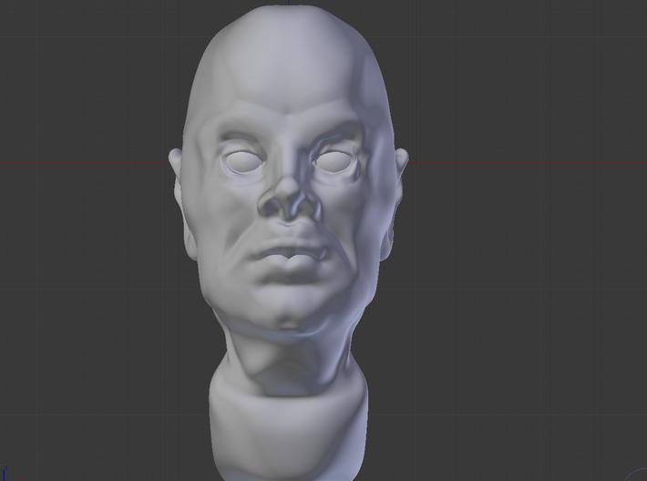 Human Head 3d printed Human Head