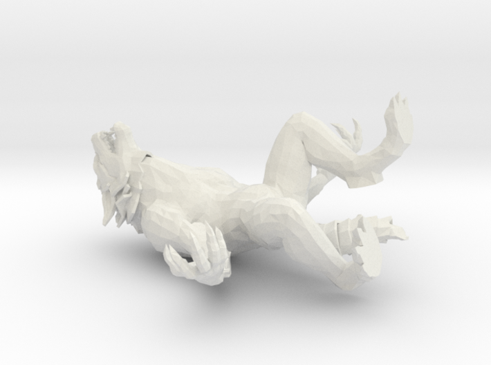 Werewolf For Printing 3d printed