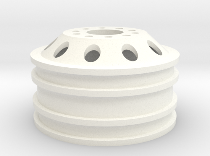 Alcoa 1.9 26mm wide 10 lug M3 single wheel 3d printed