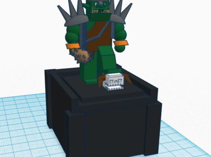 Orc Of Doom Box 3d printed