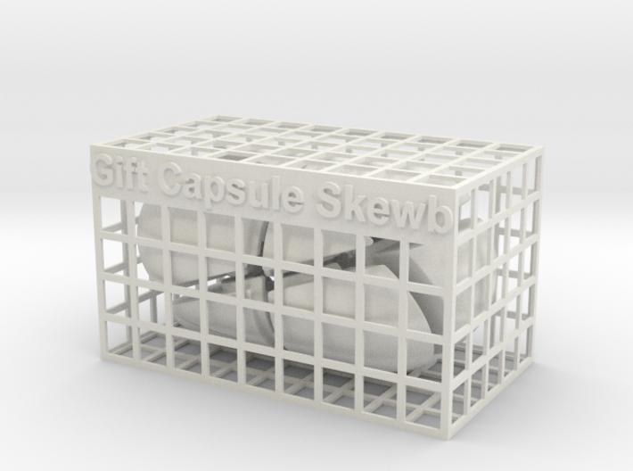 Gift Capsule Skewb 3d printed