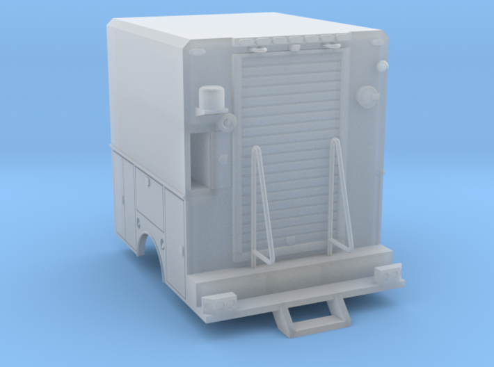 Utility Truck Work Bed 1-87 HO Scale RPS - No Cool 3d printed