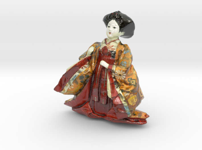 The Japanese Hina Doll-8-mini 3d printed