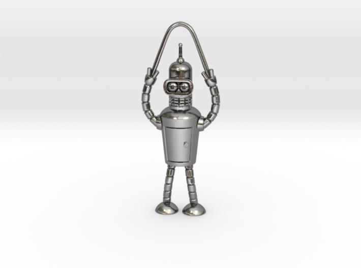 Bender Pendant 3d printed Bender Pendant
