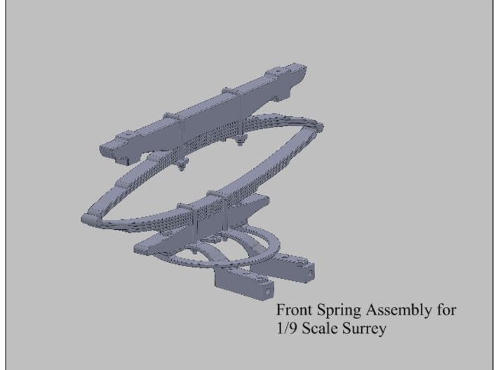 9th Scale Surrey Front Spring 3d printed
