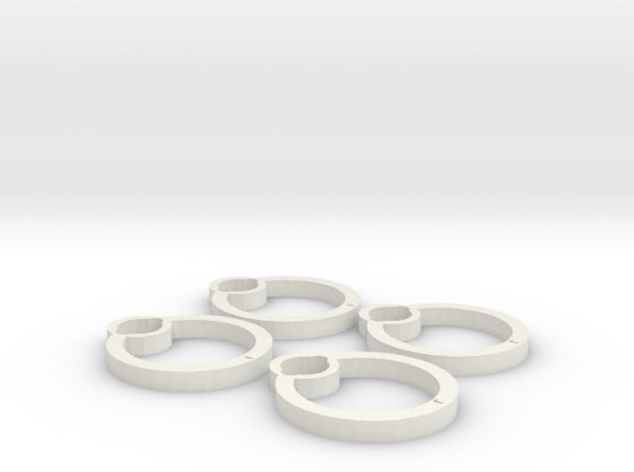 Blades protectors for Cheerson CX-10C 3d printed
