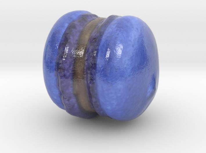 The Blueberry Macaron-mini 3d printed