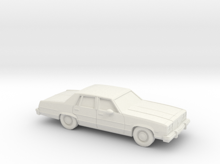1/87 1977 Oldsmobile Delta 88 Sedan 3d printed