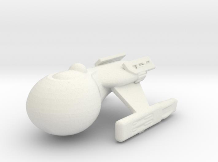 Klingon shuttle 3d printed