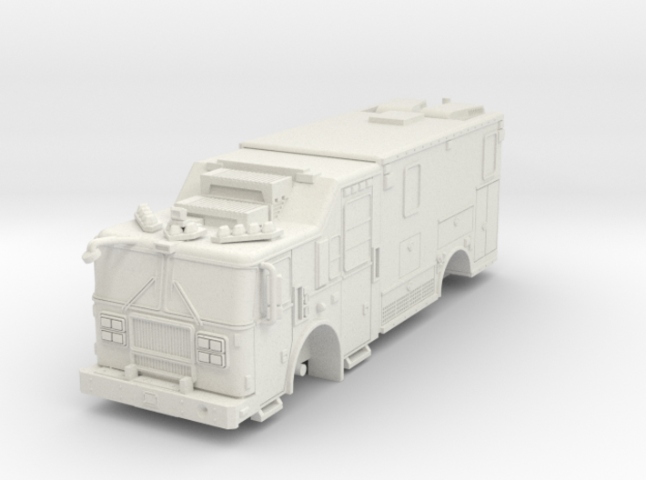 1/87 FDNY seagrave-communication-truck 3d printed