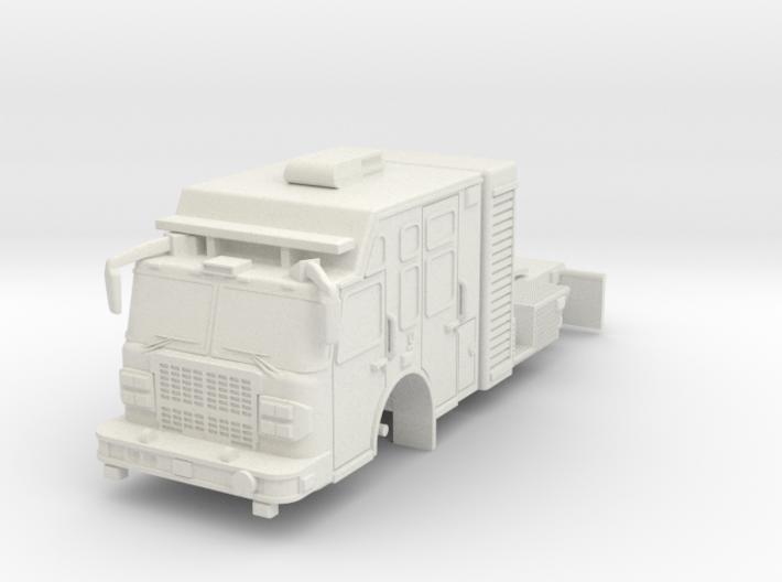 1/87 USAR or HAZMAT Tractor 3d printed