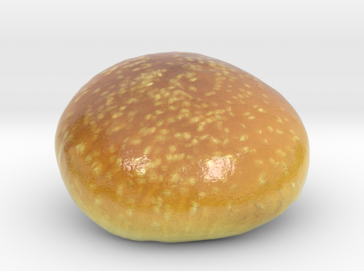 The Hamburger Bun-Crown-mini 3d printed