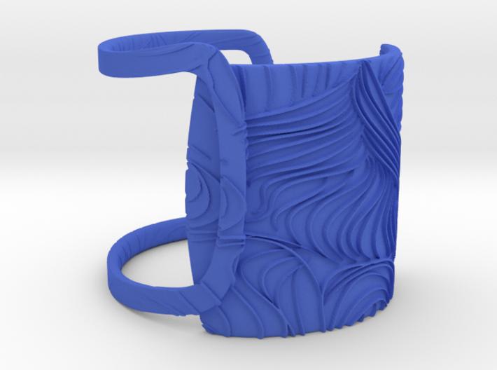 Soft Wave Bracelet 3d printed