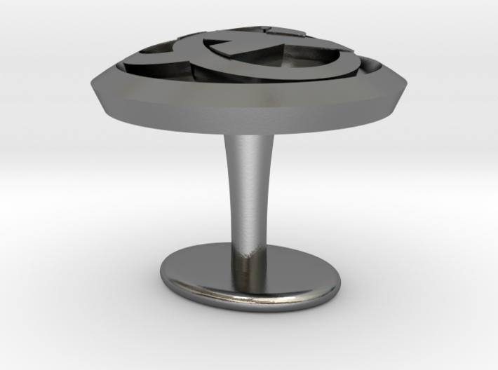 Ring cuflinks 3d printed