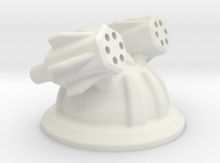 Missile / Gun Tower 3d printed
